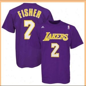 #2 Derek Fisher -Los Angeles Lakers Tee